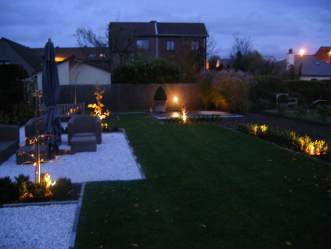 terras en tuinverlichting